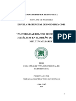Factibilidad Del Uso de Estructuras..