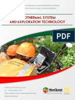 GEOTHERMAL SYSTEM AND EXPLORATION TECHNOLOGY