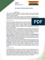 Nota de Prensa - Defendiendo 7 Plazas Actualización