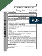 Advanced Paper 2 CTY 1719 AB Lot PT 4