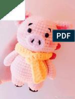 Cerdo crochet