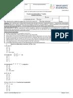 04 Prueba Mátemática Números Potencias 1° Medio