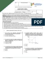 02 Prueba Física Ley de Hooke 7° Básico PIE