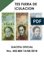 Billetes Fuera de Circulacion