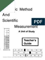 Scientific Measurement Teachers Guide Discovery Education