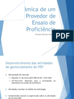 Apresentação - Dinâmica de Um Provedor de EP - XII SEMETRA