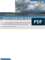 Joint Land Use Draft Report