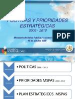 POLITICAS MSPS