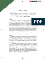 Confinamiento, Mantenimiento Del Orden y Surgimiento de La Política Social en CR