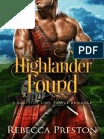 Highlander Found_ a Scottish Ti - Rebecca Preston.en.Es