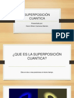 SUPERPOSICIÓN CUANTICA