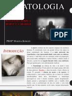 Tanatologia -TecEnfermagem