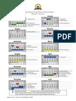 calendar 20182019 approved 071216 revised 031318 updated 041018