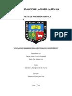 Informe de Enmiendas