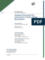 Pipeline Quality Bio Methane FINAL TASK 3 REPORT