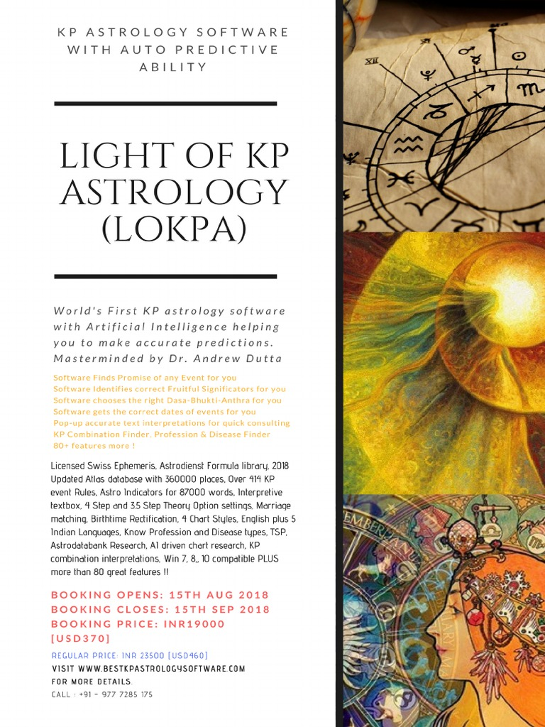 Kp Astrology Dasa