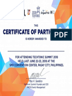 Techtonic Summit Certificate 2018.pdf