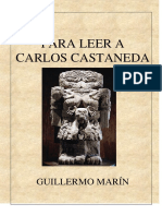 PARA LEER A CARLOS CASTANEDA - Guillermo Marin.pdf