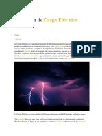 Definicion o Concepto Elecrico