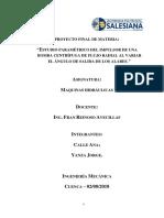 Proyecto Final Maq Hidraulicas Informe Modificado