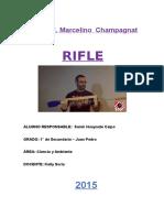 TRIPTICO Reciclaje - Rifle de Aire Comprimido Casero
