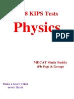 2018 KIPS Phycics Tests