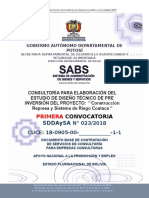 Segunda DBC ESTUDIO Coataca