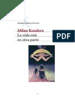 La Vida Esta En Otra Parte - Milan Kundera.pdf