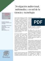 Dialnet-DivulgacionAudiovisualMultimediaYEnRedDeLaCienciaY-5791986