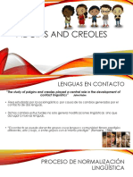 Pidgins and Creoles - PONENCIA