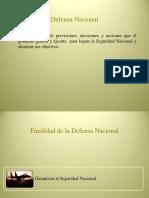 La Defensa Nacional