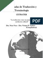 X Jornadas de Traducción y Terminología CETRATER 2016