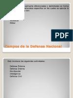 Actividades de La Defensa Nacional