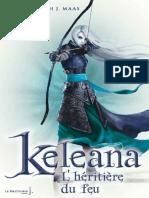 L'heritiere du feu (Keleana)