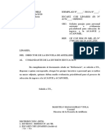 Of Pasajes Postuacion Acague y Acapomil 2018