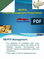 eDragon MEPFS Project Management