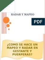 Mapeo y Radar de Gestantes