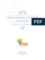 Modulo 1. Como Formar Un Comité Ciudadano