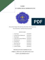 Aspek Hukum Praktik Keperawatan