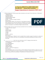 Current Affairs August Question & Answer 2017 PDF by AffairsCloud.pdf