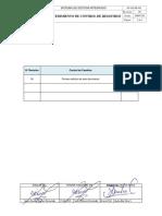 HV-SGI-C-PG-02 Procedimiento de Control de Registros Rev. 00