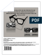 La Preparacion Proyecto Investigacion Ciencias Sociales Humanidades Recomendaciones Redaccion LibrosVirtual.com