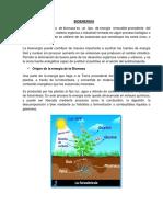 Clase de Bioenergía