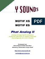 Motif_phat Analog II e