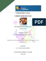 PROYECTO ESCOLAR-5to