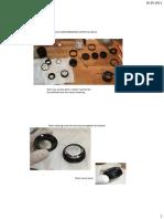 Repair Porst 55mm f1.2