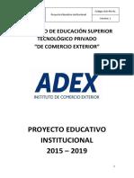 Proyecto Educativo Institucional 2015 2019