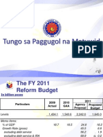 Abad Budget Reforms
