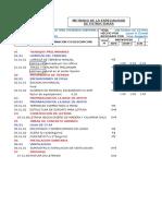FORMATO Analisis de Costos Unitarios