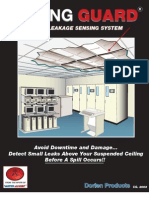 Ceiling Guard Water Leakage Sensing System